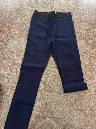 Legging efecto tejano azul marino Guess