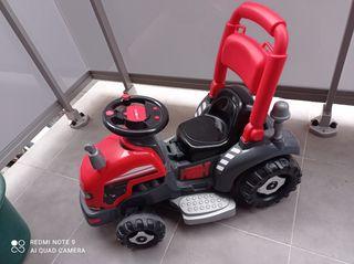 tractor de batería