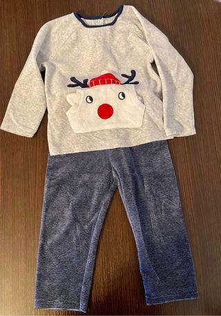 Pijama polar bebé