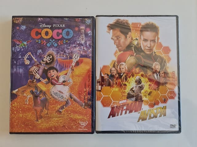 Pack películas dvd A ESTRENAR