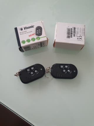 2 mandos alarma Visonic