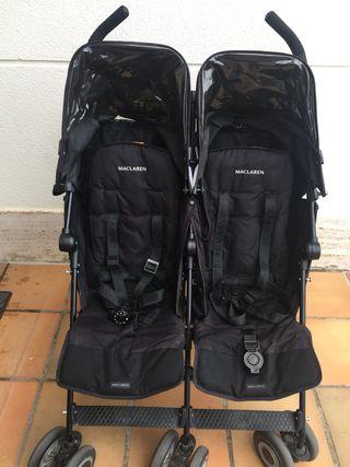 McLaren Doble Twin Tecno + accesorios