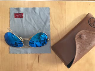 Gafas Ray Ban aviador espejo junior