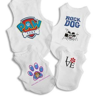 Trajes para perros personalizados