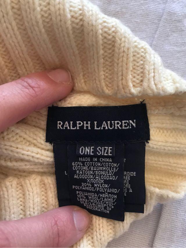 Bufanda clasica BURBERRY y gorro Ralph Lauren