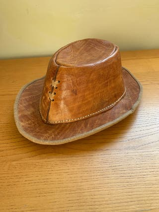 Sombrero de Piel hecho a mano