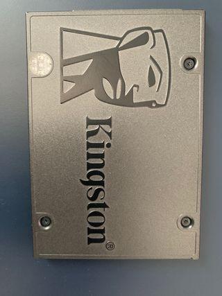 Disco duro SSD interno + caja