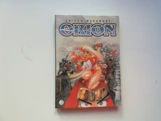 ORION SHIROW MASAMUNE MANGA ADULTOS PLANETA
