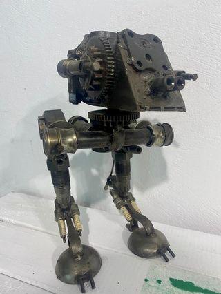 Nave Star Wars hierros reciclados.