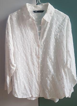 Camisa zara mujer t.L