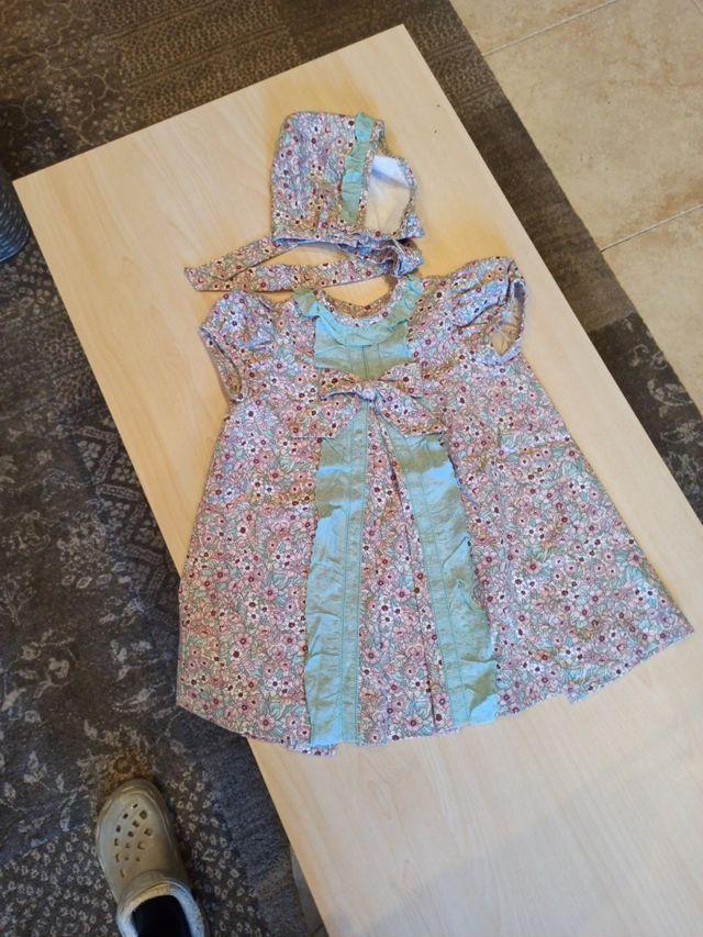 vestido talla 2 años