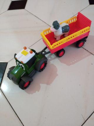 tractor con luces y melodías