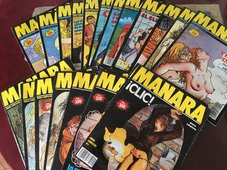 Milo Manara. Colección 20 comics