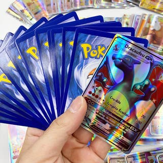 Pack de 30 cartes Pokemon GX neuves françaises