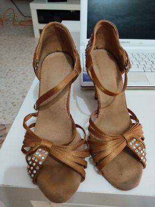 zapatos de baile latino
