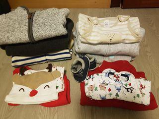 Lote ropa bebé invierno 0-3