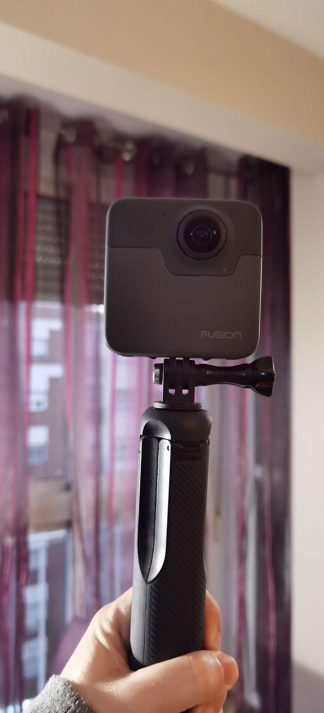 Gopro Fusion cámara 360º
