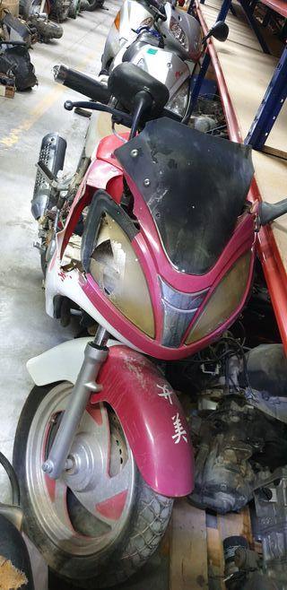 Despiece completo Clipic Samurai 125cc