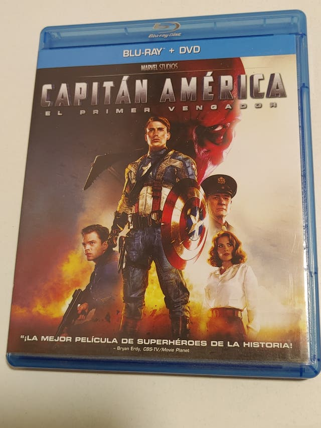 Pack Bluray Marvel y Dc