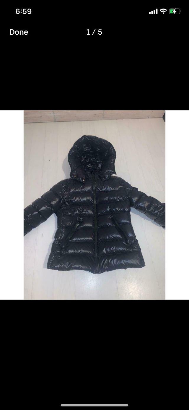 Girls moncler coat size 12