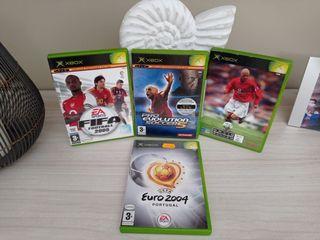 videojuegos 4 JUEGOS futbol XBOX