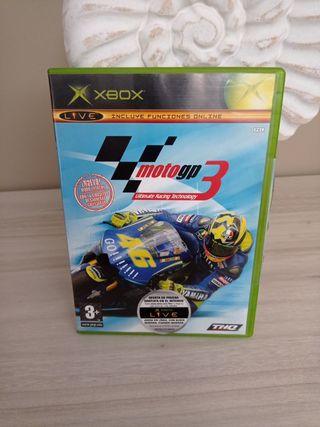 Videojuego xbox Moto gp