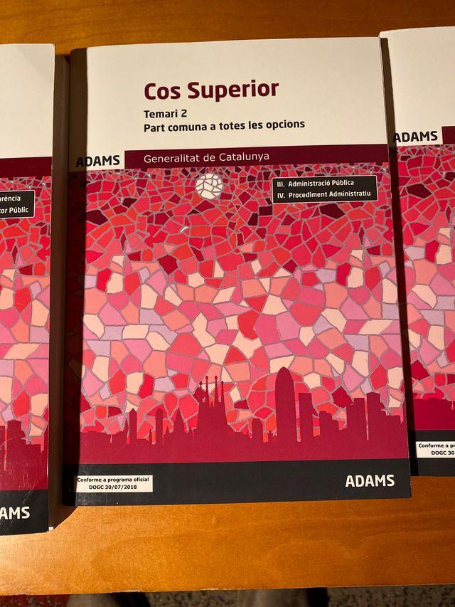 Libros Adams Cos Superior De La Generalitat De Segunda Mano Por 160 En Briviesca En Wallapop
