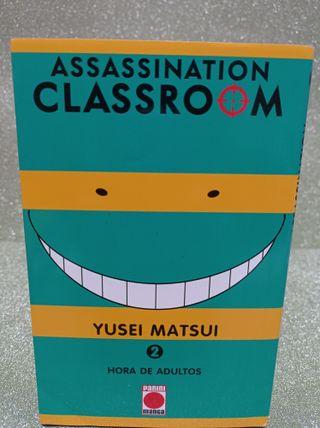 COMIC ASSASSINATION CLASSROOM 2 HORA DE ADULTOS