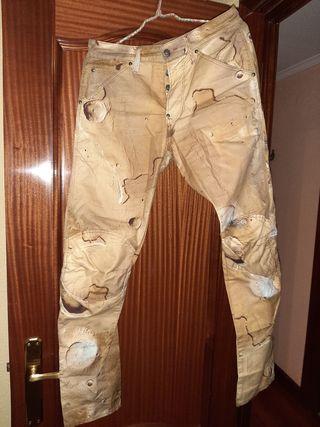 pantalon g-star de chico