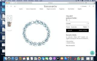 Pulsera Tiffany & Co