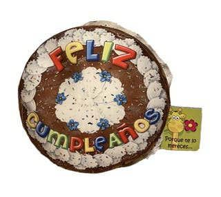 Tarta cojín feliz cumpleaños