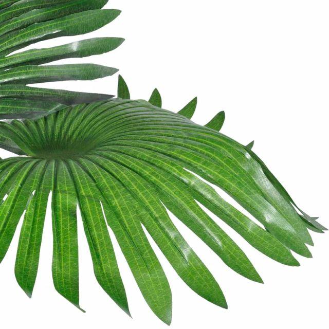 Palmera Fan artificial con aspecto natural en mace