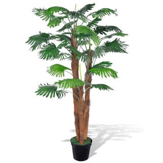 Palmera Fan artificial con aspecto natural en mace