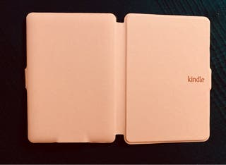 Funda ebook kindle rosa
