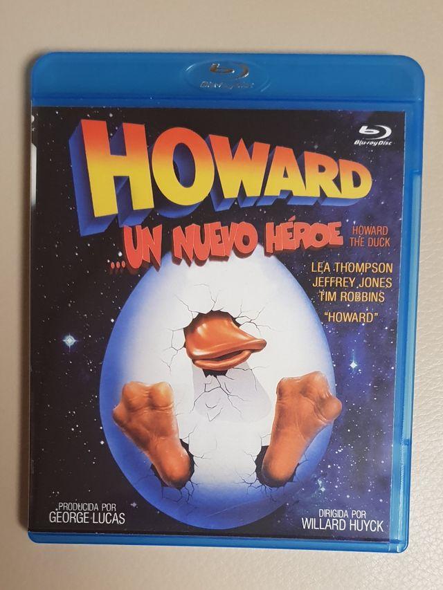 Howard un nuevo Héroe pelicula en blu-ray