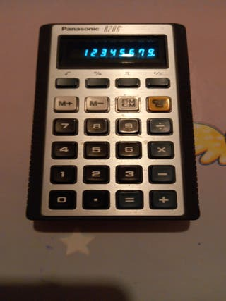 Calculadora Panasonic 8206