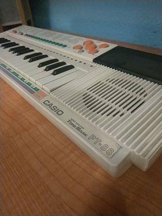 órgano Casio Tone bank Pt 88 antiguo
