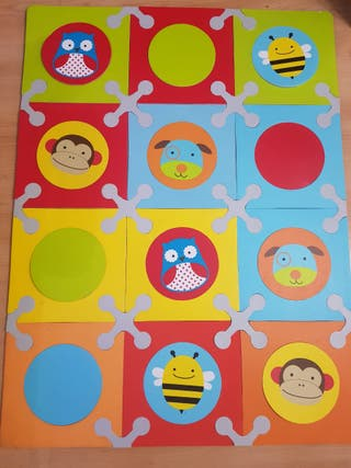 Playspot alfombra puzzle animales zoo