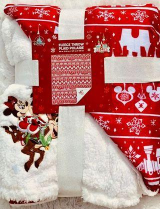 Disney Manta mickey Minnie navidad nueva