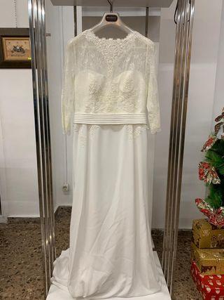 Vestido de novia de Manu García