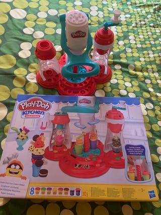 Juego Play-doh kitchen creations