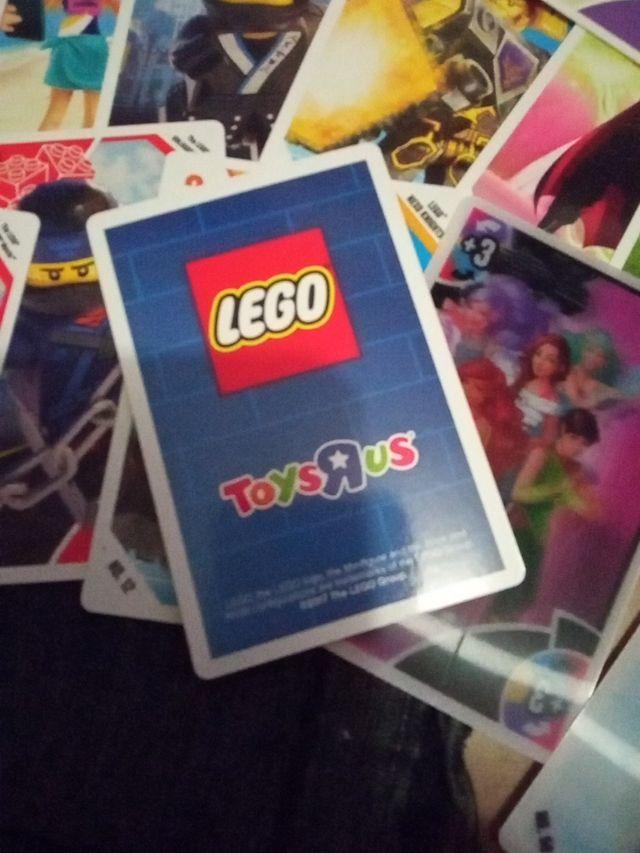 Cartas Lego Toysrus.