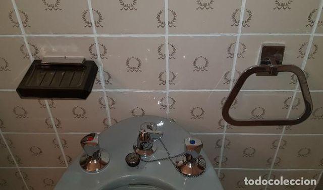 Juego completo de baño con Espejo y Lámparas Años