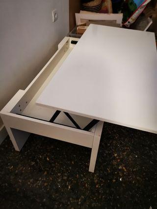mesa del centro elevable
