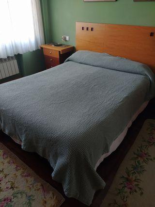 Colcha Zara Home efecto gofrado 1'35 de algodón