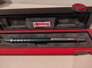Boligrafo Rotring mecanismo retractil en el clip