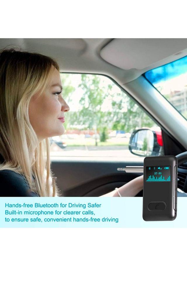 Transmisor bluetooth coche, receptor wireless