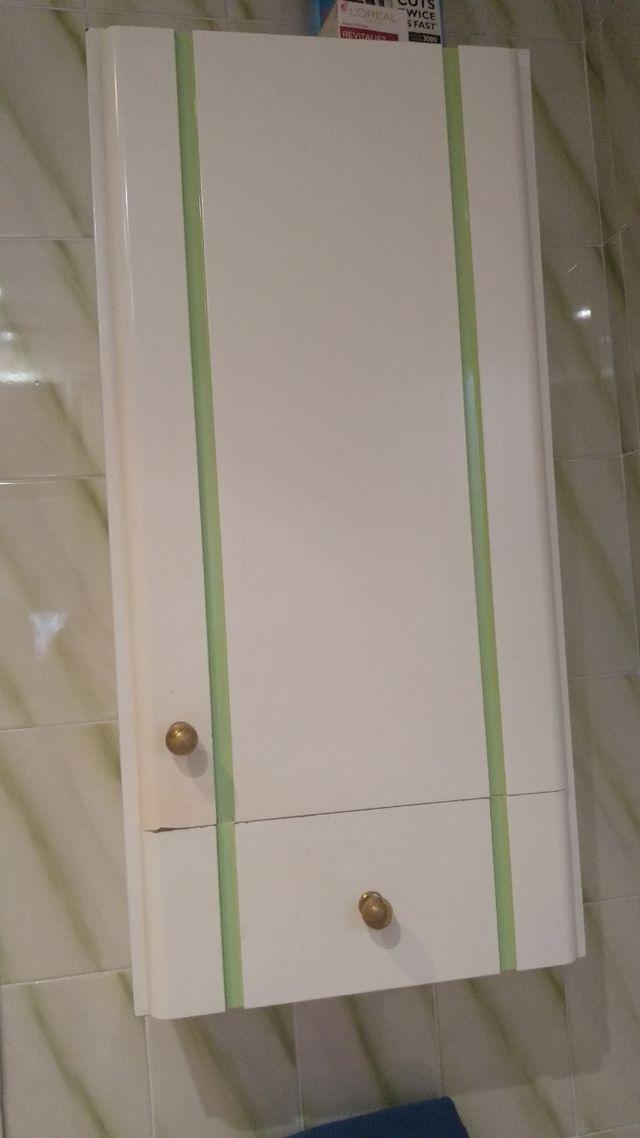 Mueble de pared auxiliar de baño