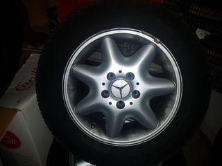 Llantas originales de Mercedes