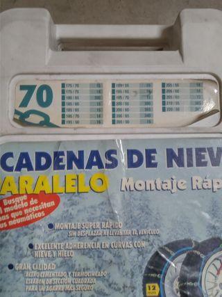 """Cadenas nieve llanta 14"""" 15"""" 16"""""""
